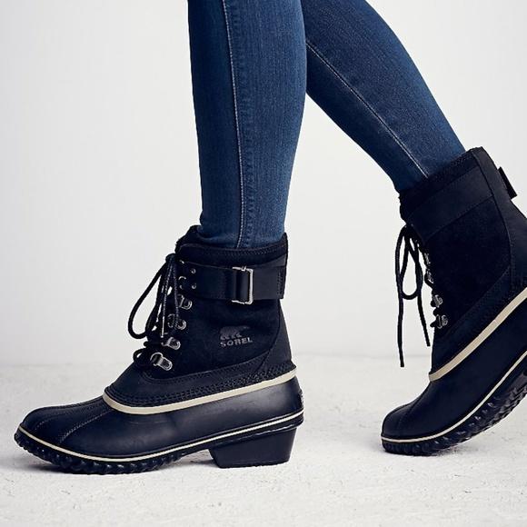 Sorel Shoes - NEW Sorel x Free People Winter Fancy suede boot